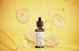 Nanoil suero facial con vitamina c